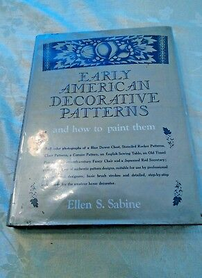 Early American Decorative Patterns and How To Paint Them Ellen Sabine