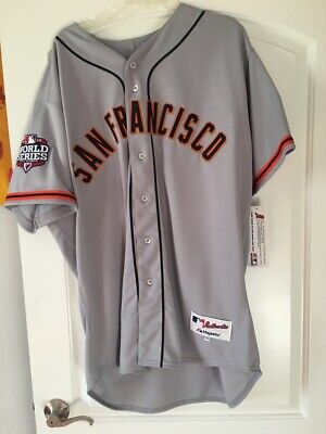 c30a66c9fa2 Authentic San Francisco Giants Tim Lincecum Jersey with 2012 World Series  Patch