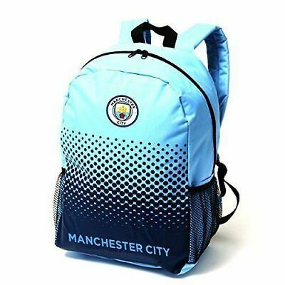 Manchester City FC Fade Backpack - Football Club Rucksack