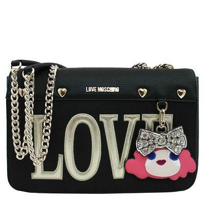 532aac867b BORSA DONNA LOVE Moschino Shoulder Bag Pebble Nero Jc4251 119 - EUR ...