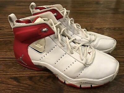 buy popular f51e0 1567c Nike Air Jordan Jumpman Jeter Vital Red White 315786-102 Sz 12