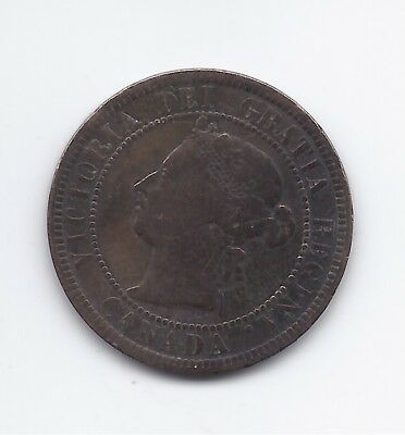 1887 one cent Canada