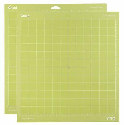 Cricut Tools Accessories Standard Grip Adhesive Cutting Mat 12 By 12 Set Of 2 3p