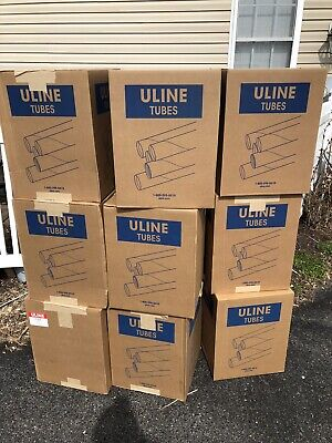 "Mailing Tubes, Snap Seal Kraft, Uline Item #S-1619 2"" X 15"" Box Of 50"