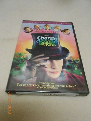 Charlie and the Chocolate Factory (Widescreen Edition) DVD David Kelly Helena JD