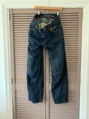 Mens Armoured Protection Motorcycle Motorbike Jeans Size 34 W 32 L