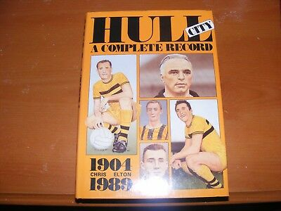 Football Hull City Breedon A Complete Record 1904-1989 HB Free UK P&P