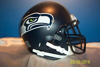 Seattle Seahawks Schutt Full Size Football Helmet 88 00