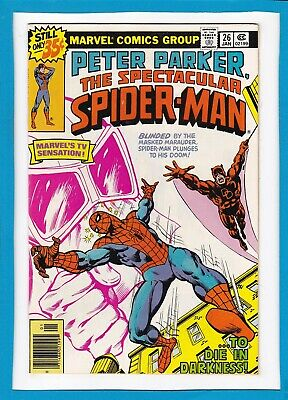Peter Parker, The Spectacular Spider-Man #26_January 1979_Nm Minus_Daredevil!