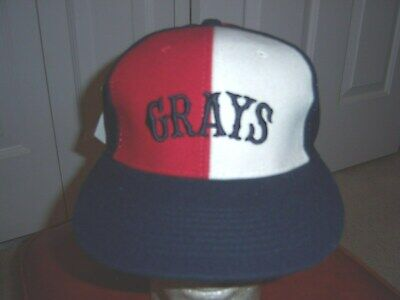 5e0df0df2a9 NEW Homestead Grays Negro League Size 7 1 8 Fitted Hat from NL Museum Never