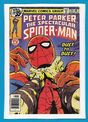 """Peter Parker, The Spectacular Spider-Man #29_April 1979_Vf_""""dust To Dust""""!"""