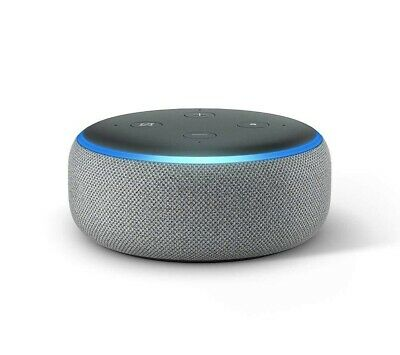 Amazon Echo Dot (3rd Generation) Smart Speaker with Alexa - Heather Grey