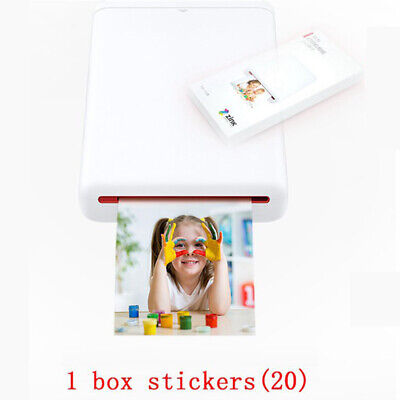 Mini Bluetooth Travel Photo DIY Zink Printer For iPhone Samsung Huawei Wholesale