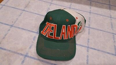a0f386d49d935 VINTAGE IRELAND WORLD Cup 1994 Adidas Soccer Snapback Hat Throwback Eire