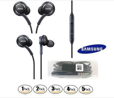 OEM Samsung AKG Stereo Headphones Handsfree Earphone In Ear Earbud For S8S9 NOTE