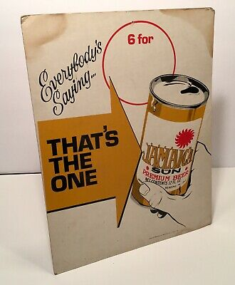 1960s Sunshine Beer Store Sign Vintage Display Reading PA Jamaica Sun Rare Old