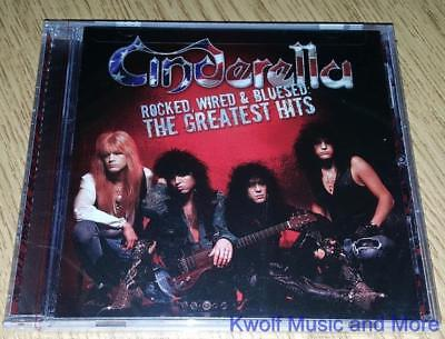 """CINDERELLA  """"Rocked, Wired & Bluesed: The Greatest Hits""""    NEW    (CD, 2005)"""