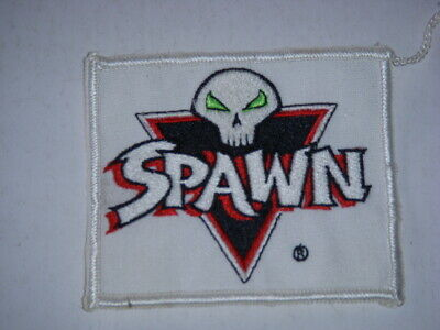 """Vintage Spawn Sew On Patch, 3 1/2"""" X 3"""", Embroidered Patch, Spawn Comics, 1990S!"""