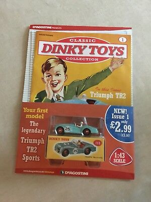 Classic Dinky Magazine Issue 1
