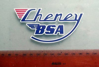 Cheney BSA Victor CE Yamaha Triumph new stickers decals VMX Pre65 Pre 65