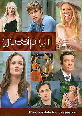 Gossip Girl Fourth Season New DVD Complete 22 Episodes Special Features SEALED