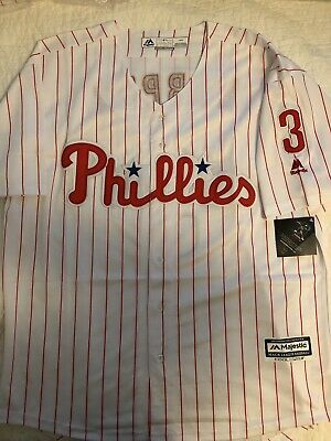 62a7341e6a6 NWT MEN S PHILADELPHIA Phillies 1980 s Cooperstown Collection White ...