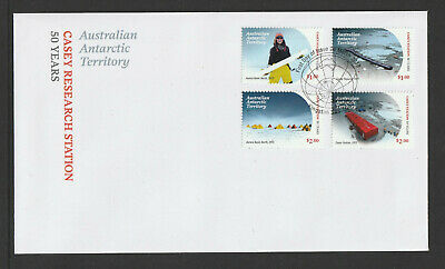 AAT 2019 : Casey Research Station 50 Years - First Day Cover, Mint Condition