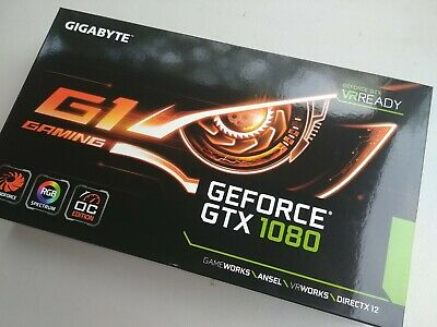 GIGABYTE GEFORCE GTX 1080 G1 Gaming 8G - Excellent used condition with box