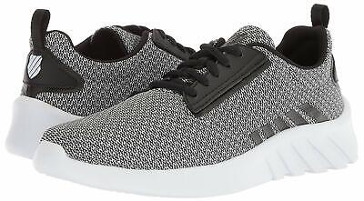 MEN K SWISS AERONAUT Sneaker Mesh Upper 05618 070 Grey Black