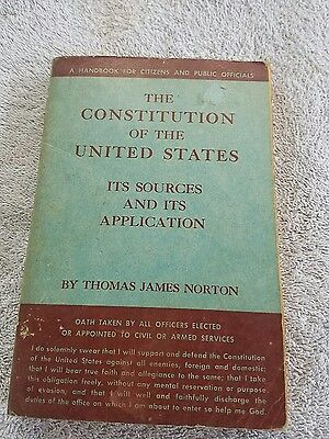 The Constitution of the United States its sources and its application (bc2)