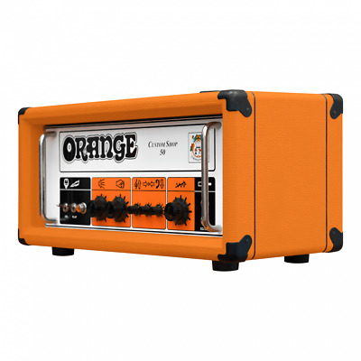 Orange CS50H Custom Shop 50W Guitar Head Amp Amplifier