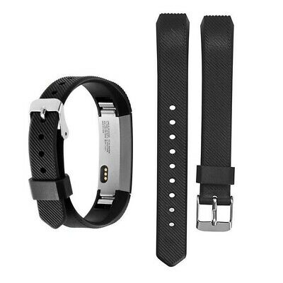 TOP Replacement Silicone Watch Band With Buckle For Fitbit Alta and Alta HR