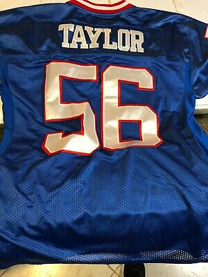 brand new 1b7b1 6f0aa LAWRENCE TAYLOR # 56 Mitchell & Ness Spider NY Giants 1986 Throwback Jersey.