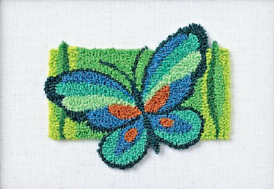 Punch Needle Kit BUTTERFLY FANCY Dimensions