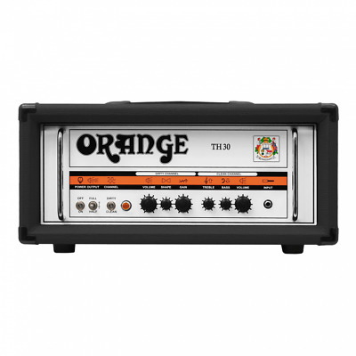 Orange TH30H BK (Black) Twin Channel 30W Guitar Head Amp TH 30