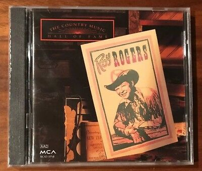 Roy Rogers: Country Music Hall Of Fame Series MCAD-10548 16 Tracks NEW SEALED CD