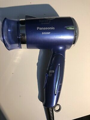 Panasonic Negative-Ion ZIGZAG IONITY Hair Dryer EH5206P-A Blue AC100-120V TESTED