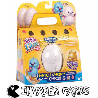 Little Live Pets Surprise Chick Egg Hatch Hop Series 1 Collectible Toy New Boxed