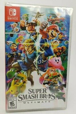 Super Smash Bros. Ultimate Nintendo Switch Brand New Factory Sealed Exciting!!!