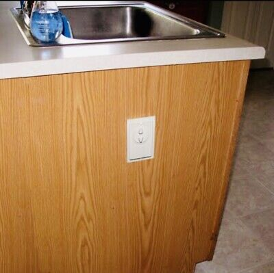 Garbage Disposal Switch Guard and Cover (for a Single Rocker Switch)