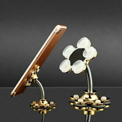Universal 360° Mounting Plate Magic Double Sided Suction Cup Stand Phone Holder
