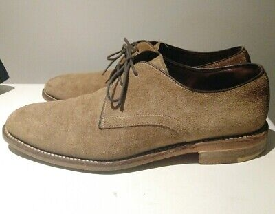 Loake made in England Roux Suede Derby Shoes UK 6 / US 7.5
