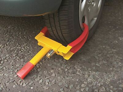 Streetwize Trailer Caravan Car Anti Theft Security Wheel Claw Clamp U Lock