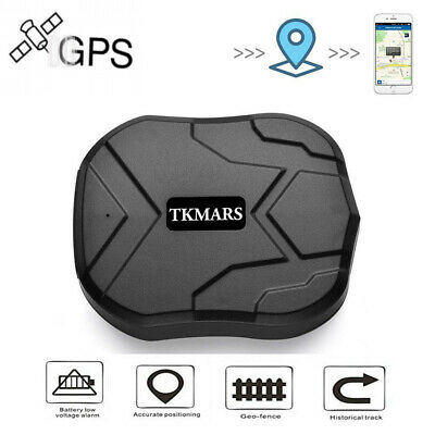 TKMARS GPS Tracker for Vehicles Waterproof Real-Time Anti-theft tracker...