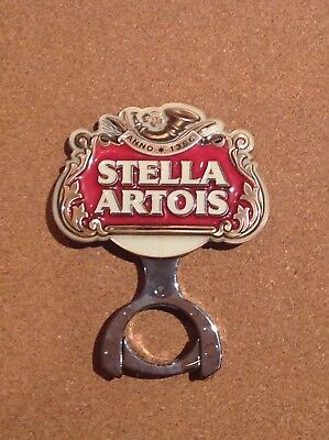 Stella Artois Beer Tap Badge With Mounting Bracket