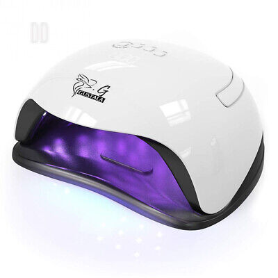 54W UV LED Nail Lamp Dryer for Gel Polish, GUSTALA Lamps with 36 Dual Light...