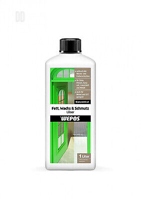 Wepos 2000202903 Grease, Wax and Dirt Remover 1 Litre