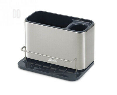 Joseph Surface Stainless-Steel Caddy Sink Area Organiser - Silver