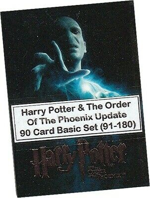 Harry Potter & The Order Of The Phoenix Update - 90 Card Basic/Base Set #91-180