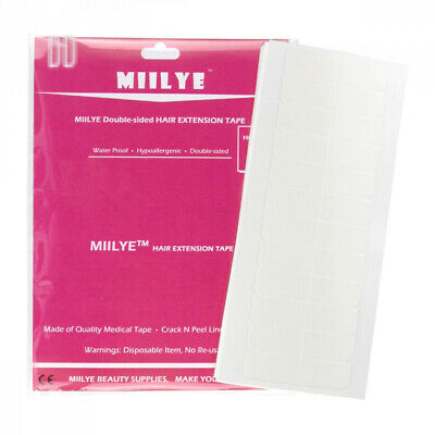 MIILYE Hair Extensions Tape (Pre-cut Tabs/Double-Sided...